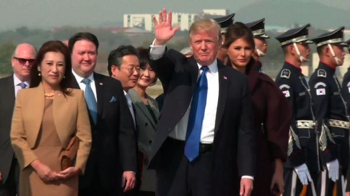 Donald Trump a Seoul, seconda tappa del suo tour asiatico